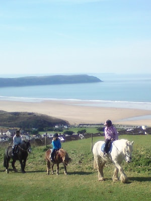 Riding out and about around Woolacombe, North Devon